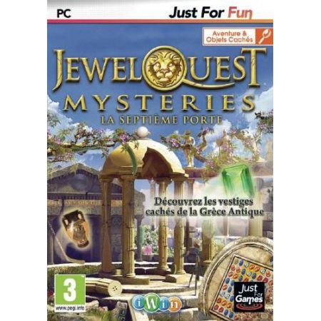 Jeu Pc - Jewel Quest Mysteries 3 : La Septieme Porte