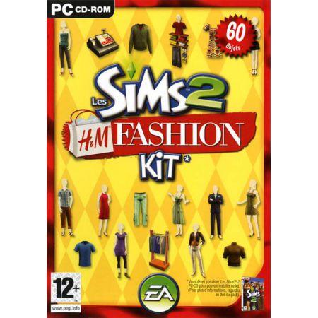 Jeu Pc - Les Sims 2 H&M Fashion Kit