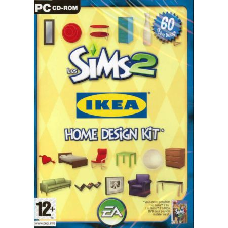 Jeu Pc - Les SIms 2 Ikea Home Design Kit