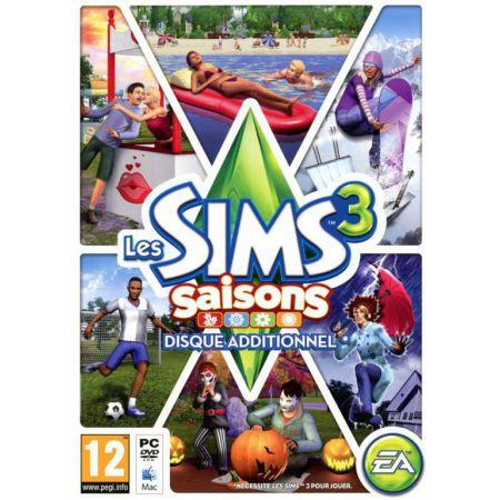 Jeu Pc - Les Sims 3 Saisons : Disque Additionnel