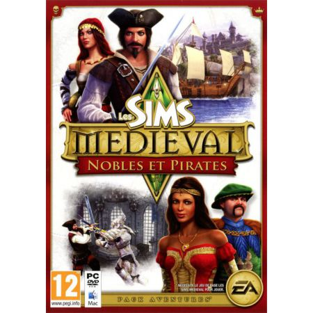 Jeu Pc - Les Sims Medieval : Nobles et Pirates - JPC3797