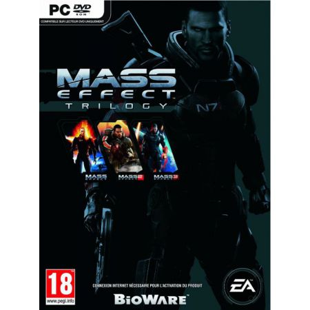 Jeu Pc - Mass Effect Trilogy (contient Mass Effect 1 + 2 + 3)