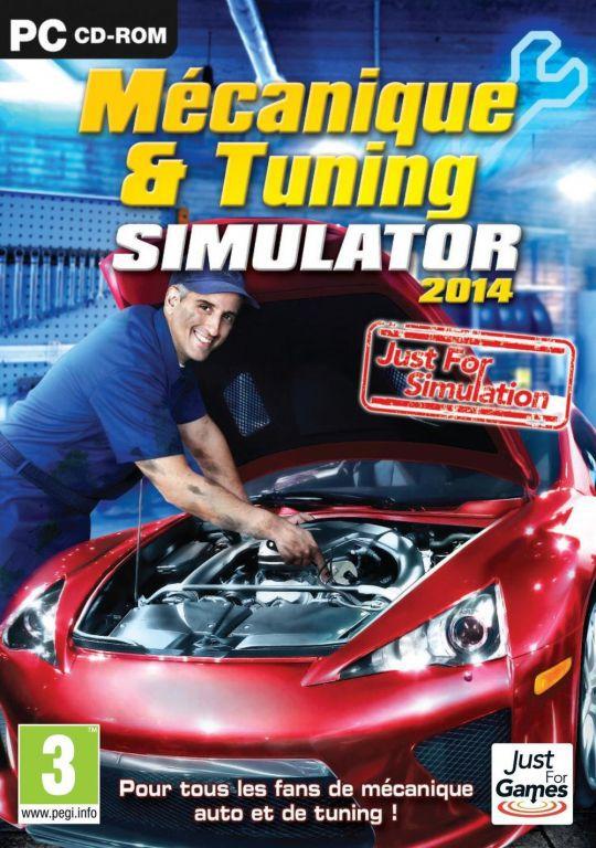 jeu pc mecanique tuning simulator 2014 jeux video pc jeux. Black Bedroom Furniture Sets. Home Design Ideas