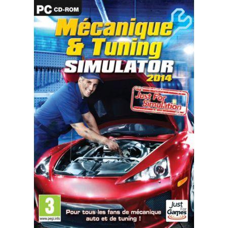 Jeu Pc - Mecanique & Tuning Simulator 2014
