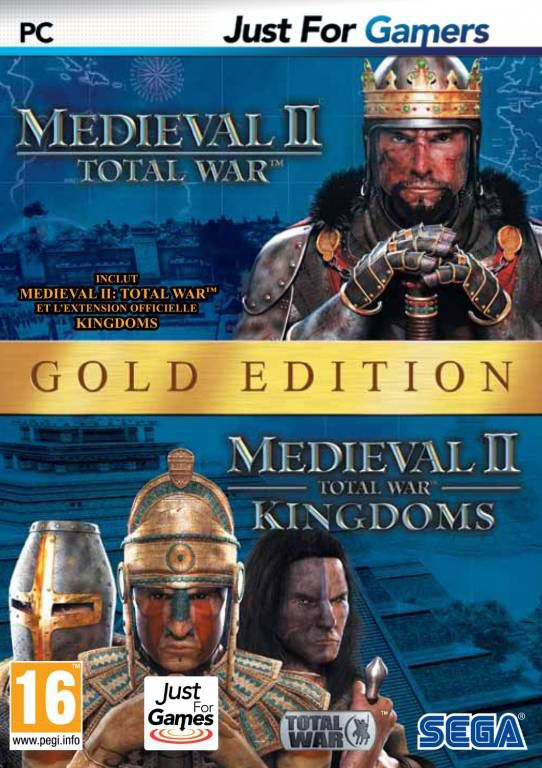 jeu pc medieval ii total war gold edition jeux video pc jeux. Black Bedroom Furniture Sets. Home Design Ideas