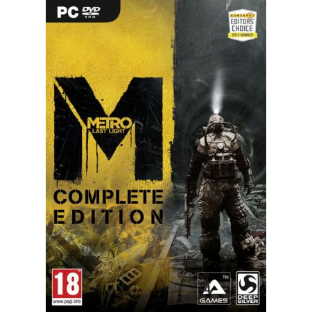 Jeu Pc - Metro Last Light : Complete Edition