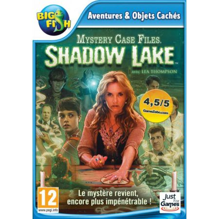 Jeu Pc - Mystery Case Files : Shadow Lake