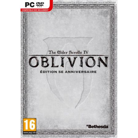 Jeu Pc - Oblivion 5th Anniversary The Elder Scrolls IV