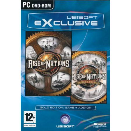 Jeu Pc - Rise Of Nations Gold + Thrones & Patriots