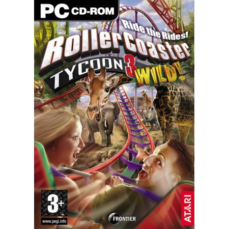 Jeu Pc - Rollercoaster Tycoon 3 : Wild (Distractions Sauvages)