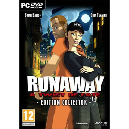 Jeu Pc - Runaway A Twist Of Fate Edition Collector