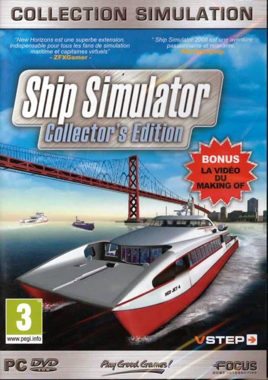 jeu pc ship simulateur collector 39 s edition jeux video pc jeu. Black Bedroom Furniture Sets. Home Design Ideas