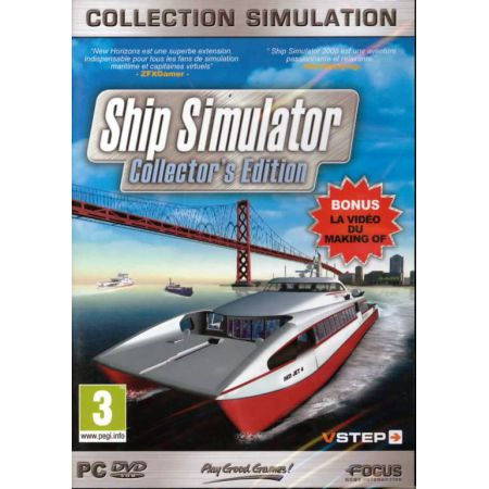 Jeu Pc - Ship Simulateur Collector's Edition