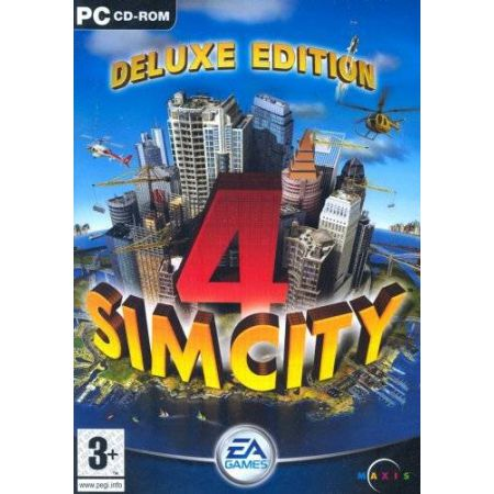 Jeu Pc - Sim City 4 Edition Deluxe