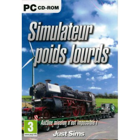 Jeu Pc - Simulateur Poids Lourds