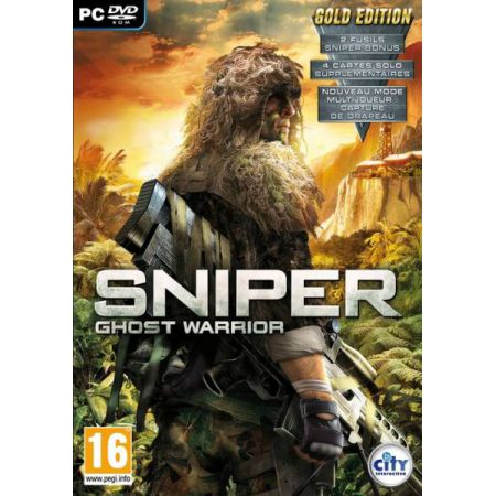 JEU PC - SNIPER : GHOST WARRIOR GOLD EDITION (GUERRE FPS) EN FRANCAIS VF