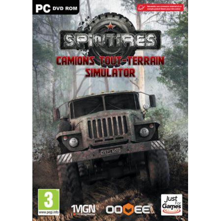 Jeu Pc - SpinTires Camions Tout-Terrain Simulator - JPC4987