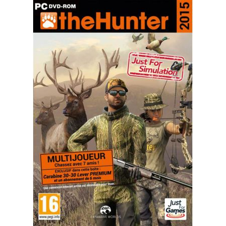 Jeu Pc - The Hunter 2015 - JPC6127