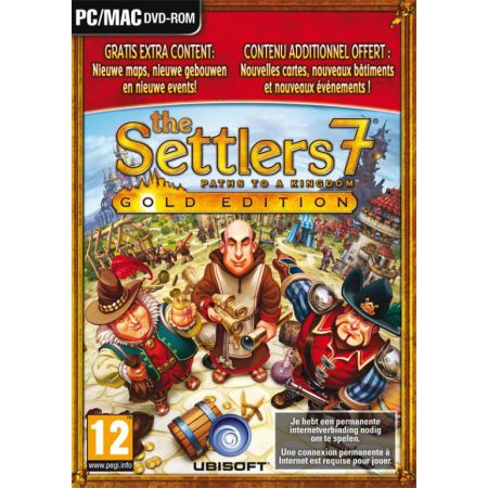 Jeu Pc - The Settlers 7 Gold Edition