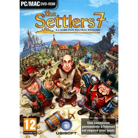 Jeu Pc - The Settlers 7 : Paths To A Kingdom