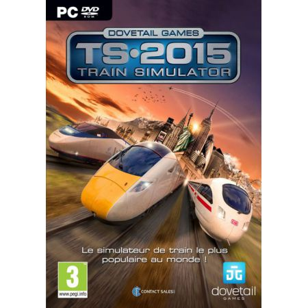 Jeu Pc - Train Simulator : TS 2015 - JPC8079