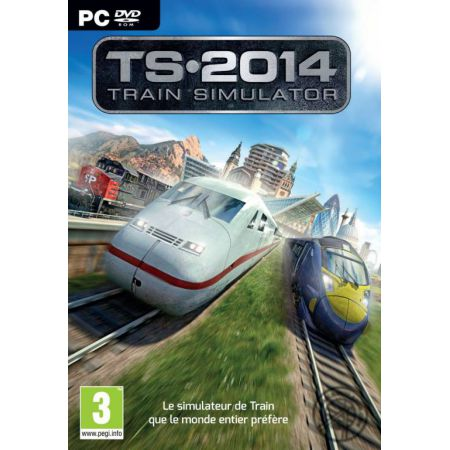 Jeu Pc - TS 2014 : Train Simulator