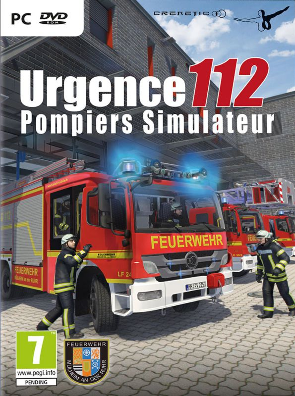 jeu pc urgence 112 pompiers simulateur 82 jeux video pc. Black Bedroom Furniture Sets. Home Design Ideas