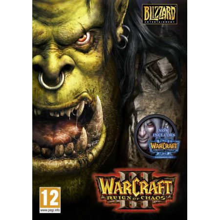 Jeu Pc - Warcraft 3 : Reign Of Chaos Gold + L'extension Frozen Throne