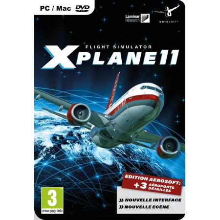 Jeu Pc - Xplane 11 : Flight Simulator