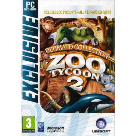 Jeu Pc - Zoo Tycoon 2 Ultimate Collection