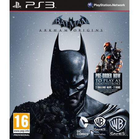Jeu Ps3 - Batman Arkham Origins
