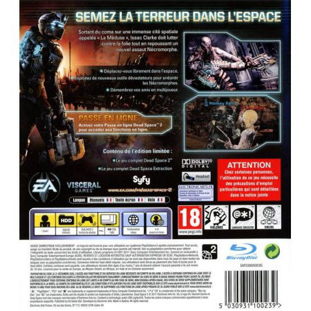 Jeu Ps3 - Dead Space 2 Limited Edition
