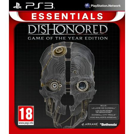 Jeu Ps3 - Dishonored - Edition GOTY