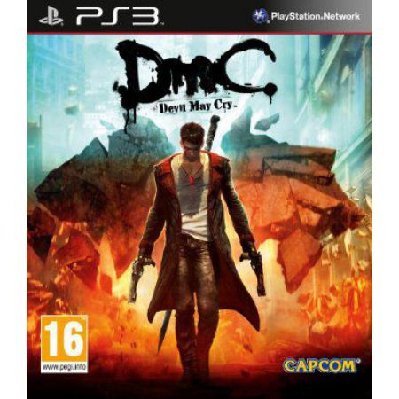 Jeu Ps3 - DMC : Devil May Cry