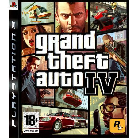 Jeu Ps3 - Grand Theft Auto 4 : GTA IV