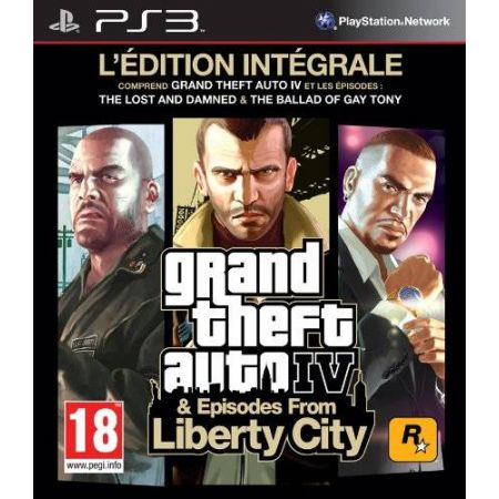 Jeu Ps3 - GTA IV Edition Integrale & Episodes From Liberty City