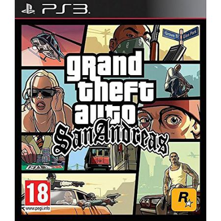 Jeu Ps3 - GTA San Andreas - Grand Theft Auto