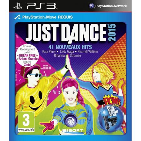 Jeu Ps3 - Just Dance 2015