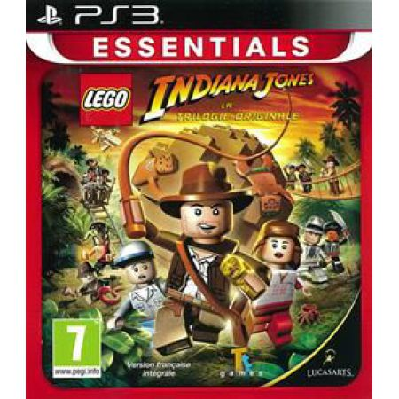 Jeu Ps3 - Lego Indiana Jones : La Trilogie Originale