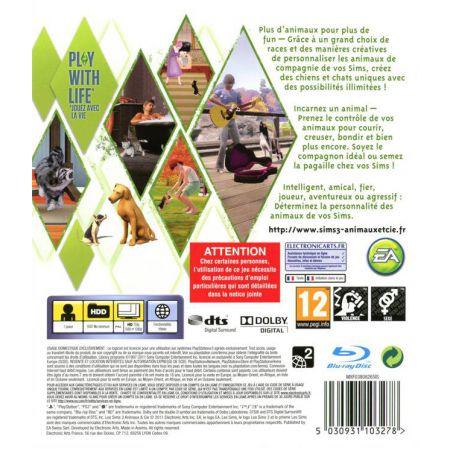 Jeu Ps3 - Les Sims 3 Animaux Et Cie