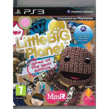 Jeu Ps3 - Little Big Planet Edition GOTY