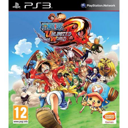 Jeu Ps3 - One Piece Unlimited World Red