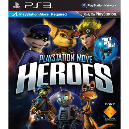 Jeu Ps3 - Playstation Move Heroes