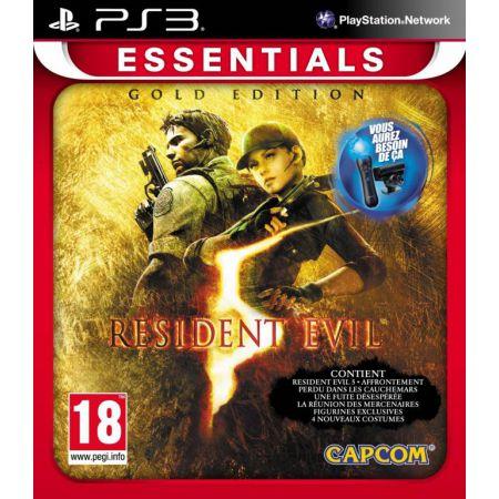 Jeu Ps3 - Resident Evil 5 Gold Edition