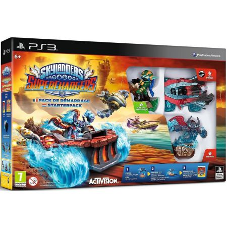 Jeu Ps3- Skylanders Superchargers Racing - Pack de Demarrage