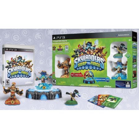 Jeu PS3 - Skylanders : Swap Force - Pack De Démarage / Starter Pack