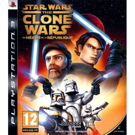 Jeu Ps3 - Star Wars The Clone Wars Les Heros De La Republique