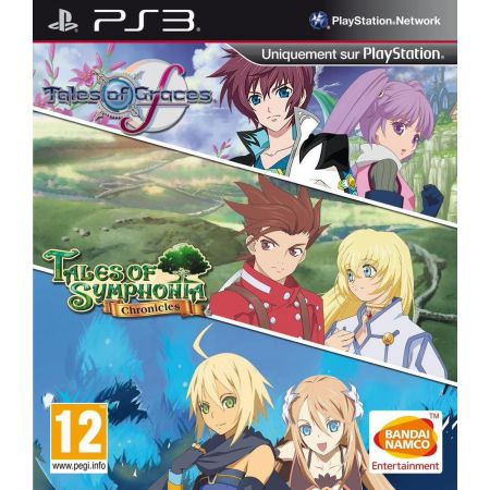 Jeu Ps3 - Tales Of Symphonia Chronicles + Tales Of Grace F