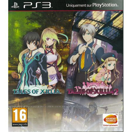 Jeu PS3 - Tales Of Xillia + Tales Of Xillia 2