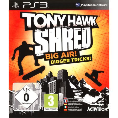 Jeu Ps3 - Tony Hawk Shred Avec Skateboard